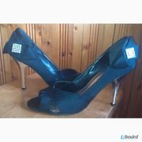 Атласные открытые туфли ТМ RONZO, р.40 Цена 300 грн