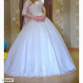 Продам свое свадебное платье цвета айрови!ТОРГ