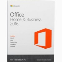 Купить Microsoft Office 2016 Home and Business 32/64 Russian DVD T5D-02290
