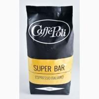 Кофе в зернах Caffe Poli Bar 1 кг 50/50