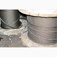 Канат, трос стальной 1-39мм, строп канатные, текстильные и цепные