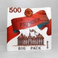 Салфетки однослойные барные Lux Primier Big Pack 500 шт в пачке