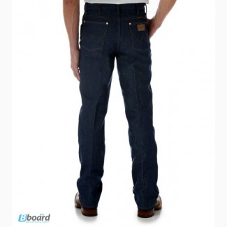 Джинсы Wrangler США 936DEN Slim Fit Jeans - Rigid Indigo (США)