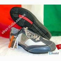 Кроссовки мужские кожаные фирмы OUTPUT оригинал из Италии