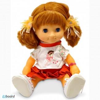 Купить Куклу интерактивную Оля говорящая с мимикой 40 см недорого