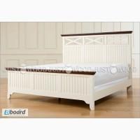 Двуспальная кровать Реприза из натурального дерева