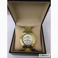 Купить Часы Rolex Daytona (Ролекс Дайтона) кварц белые оптом от 100шт