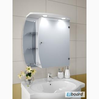 Шкафчик в ванную зеркальный А66-NS