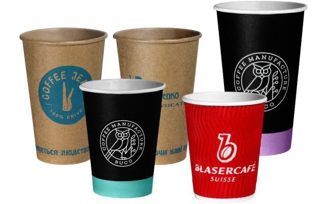 Бумажные стаканы для кофе от производителя