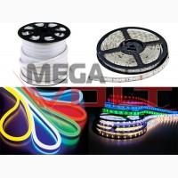 Светодиодное освещение и комплектующие для монтажа