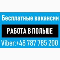CРОЧНО | Работа в Польше | БЕСПЛАТНАЯ вакансия Электрик. Монтажник. Сварщик. Одесса