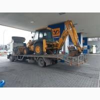 Перевозка тракторов и строительной техники до 10 т