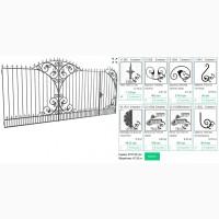 Кованые элементы для ворот