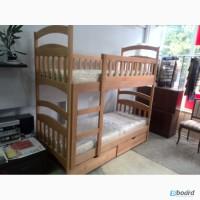 Новая двухъярусная кровать «Эко-Люкс-Бук» без нижних бортиков + акция