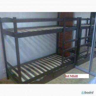 Продажа недорогой двухъярусной кровати «Бемби» от производителя