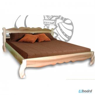 Двуспалная кровать из ясеня Олеся