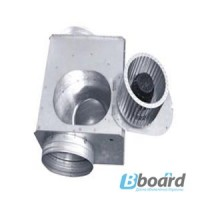 Вентилятор канальный прямоугольный для круглых каналов ВКП-К 315