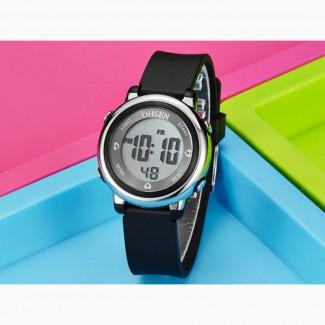 Детские электронные водонепроницаемые часы Ohsen
