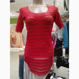 Сексуальное, ажурное платье-туника
