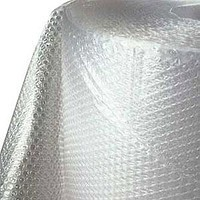 Воздушно-пузырчатая пленка Д45, ширина 1, 1 м (рулон 25 м