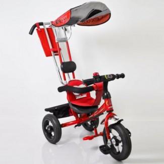 Продам 3-колесный велосипед Lex-007 с родит. ручкой (НАДУВНЫЕ КОЛЕСА)
