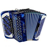 Баян пятирядный Delicia Sonorex 96 басов Итальянские голоса