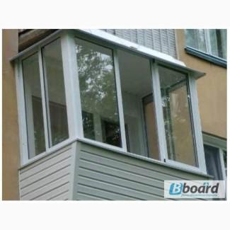 Раздвижные окна и двери из металлопластика