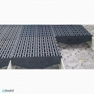 Пластиковые щелевые полы (решетки) для полов свинофермы