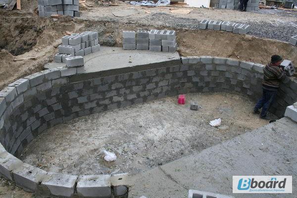 Бассейны для дачи из бетона видео