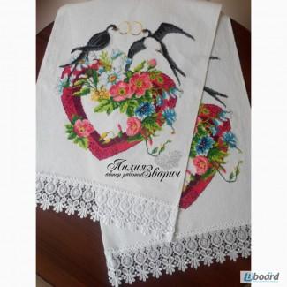 Свадебный рушник «Ласточки»