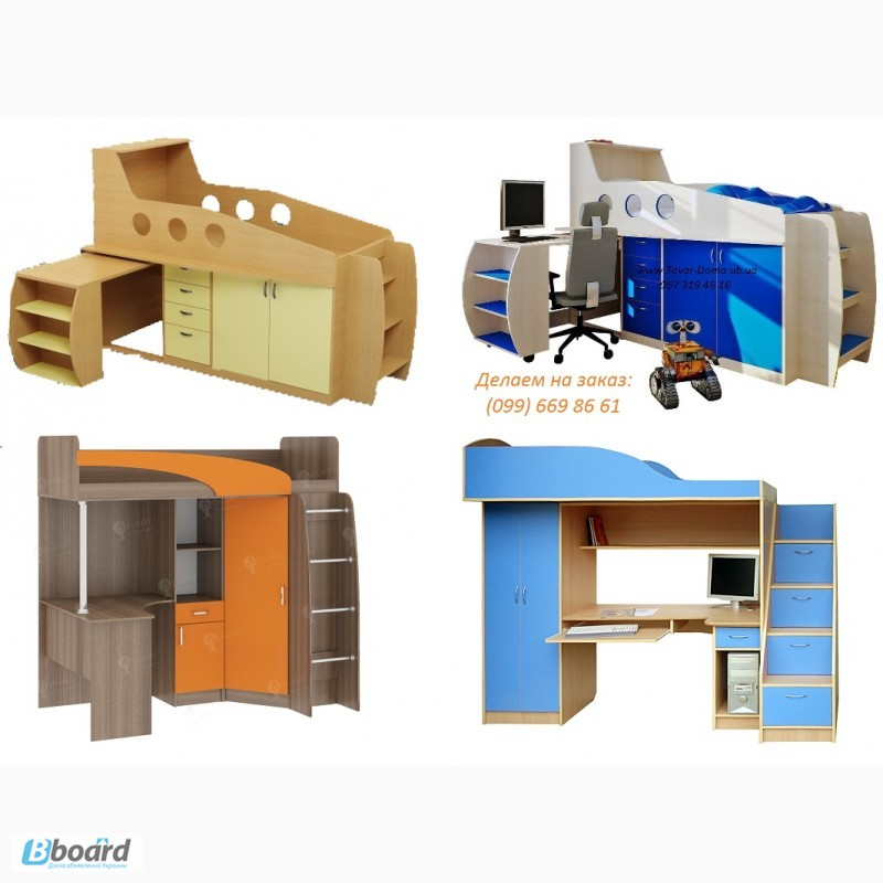 Фото 4. Детская мебель на заказ