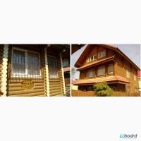 Реставрация деревянных домов - шлифовка, покраска, герметизация. Одесса