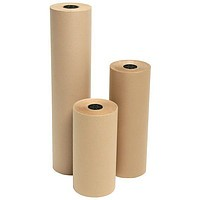 Упаковочная бумага Крафт плотность 160 г/м2 в рулонах. Ширина 75 см