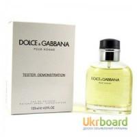 Dolce Gabbana Pour Homme туалетная вода 125 ml. (Тестер Дольче Габана Пур Хом)