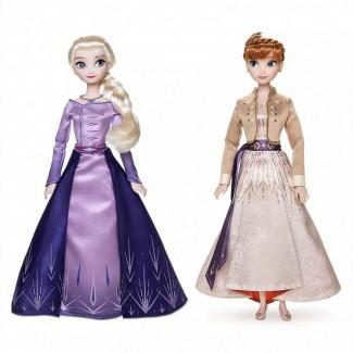 Кукла Эльза и Анна Холодное сердце 2 Дисней