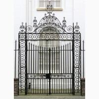 Ковка, кованые ворота, кованные изделия, ограда, кованная ограда, обрешетка, обрешетка