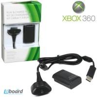 Аккумуляторная батарея и зарядка для беспроводного джойстика Xbox 360