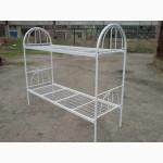 Кровать металлическая, двухъярусная кровать, купить кровати металлические, кровать дешевая