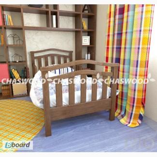 Дитяче ліжко -Хвиля справжнє дерево