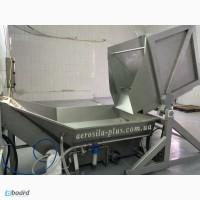 Конвейерная система для перегрузки, ополаскивания продукта под заказ