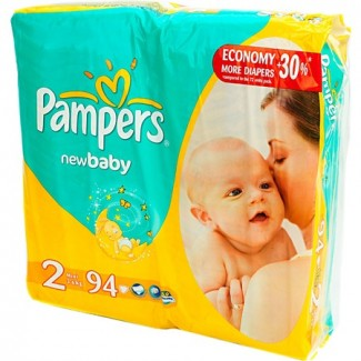 Подгузники Pers New Baby Mini 2 (3-6 кг) 94 шт
