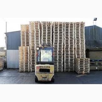 Покупаем б/у деревянные поддоны - конструктивная цена