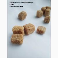 Сахар коричневый 500 грамм в зелёной коробке