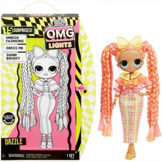Кукла L.O.L. Surprise OMG Lights Dazzle серия Неон