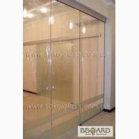 Розсувні скляні двері