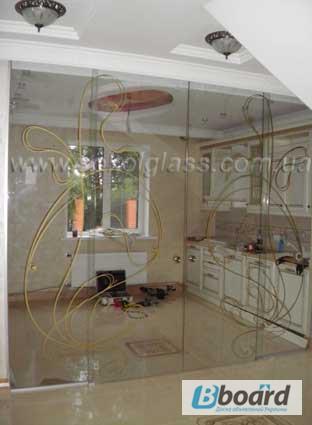 Фото 5. Розсувні скляні двері