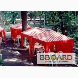 Палатки, шатры, тенты, павильоны, навесы.
