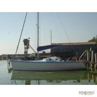 Продам парусно- моторную яхту ЛЭС 35