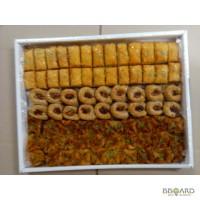 Производство турецкой пахлавы и французских печений