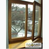 Дубовые окна, окна из дуба со стеклопакетом. Производство и установка дубовых окон.